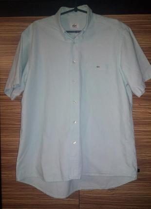 Рубашка с коротким рукавом lacoste