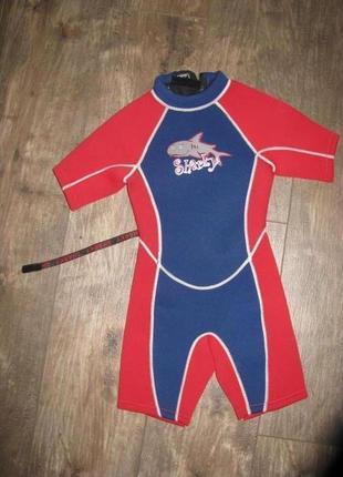 Детский костюм для дайвинга для плавания 3-4 года 98-104 см