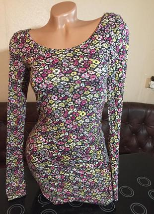 Нежное платье от h&m вискоза