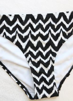 Универсальные черно-белые купальные плавки от bpc bonprix collection (размер л)