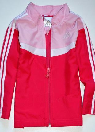 Олимпийка с сочными цветами adidas-original размер: на 1-2 года,реально дольше ( 3+ )