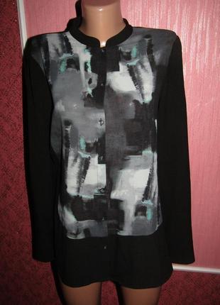 Блуза р-р л 14 бренд mexx