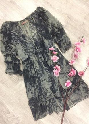 Легкая шифоновая блуза saint tropez