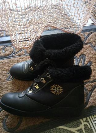 Крутые зимние ботинки kandahar.