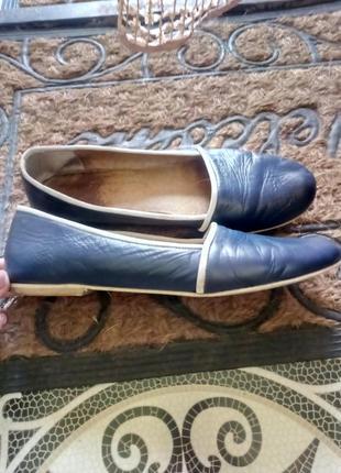 Классные туфли-мокасины.2 фото