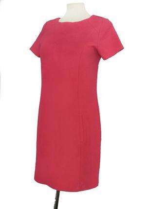 Стильное короткое розовое платье