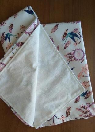 Непромокаемые пеленки 80х100 см