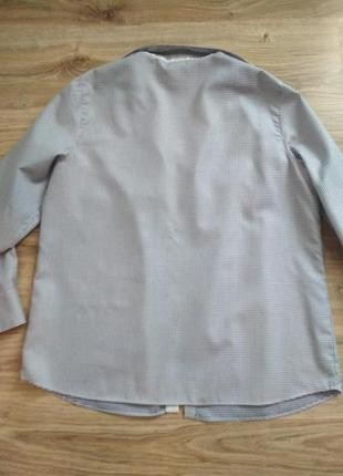 Eterna/рубашка хлопковая2 фото