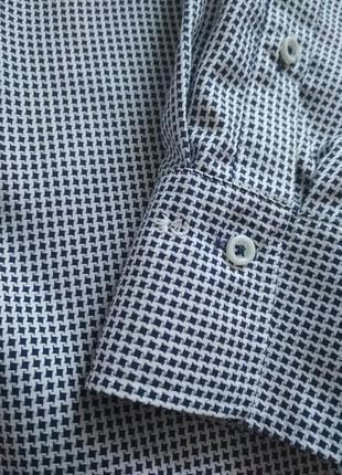 Eterna/рубашка хлопковая4 фото