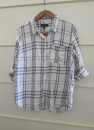 Рубашка хлопок клетка от atm