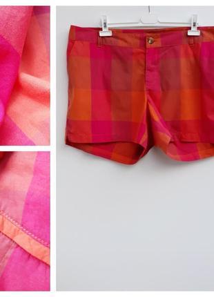 Шорты короткие шорты в клетку большой размер летние шорты