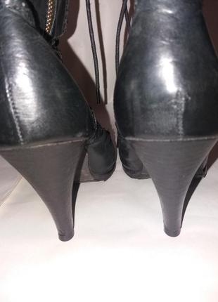 Розвантажуюсь ботинки натуральная кожа р. 413 фото