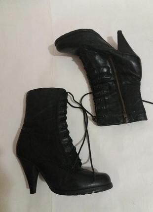 Розвантажуюсь ботинки натуральная кожа р. 411 фото
