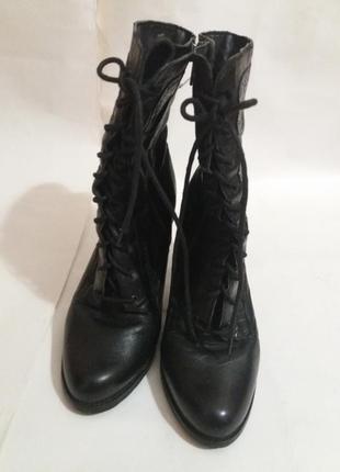 Ботинки натуральная кожа р. 41