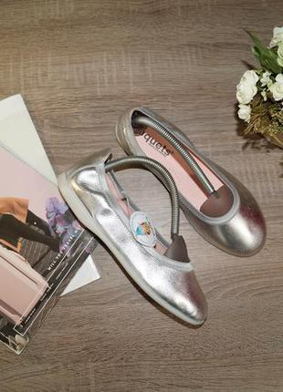 (37р/24см) xiquets! испания! кожа! стильные комфортные туфли, мокасины, балетки2 фото