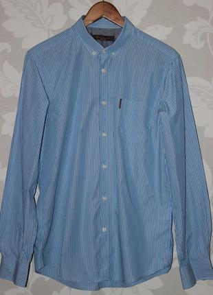 Фирменная рубашка в полоску ben sherman