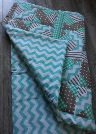 Детское одеяло пэчворк hand made
