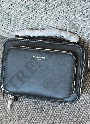 e276a4205540 Хит продаж #3966 black david jones женский каркасный брендовый клатч ...