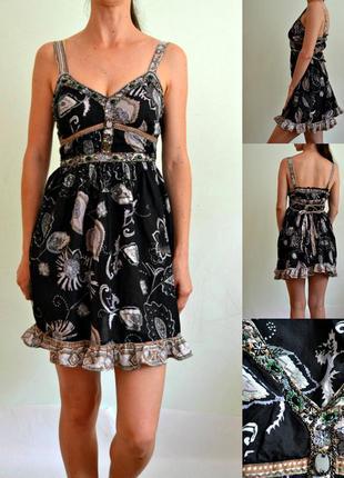 Хлопковое платье ,сарафан