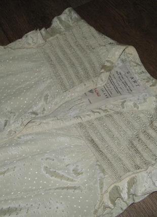 Фирменная женственная вискозная блузочка в романтическом стиле, р. l