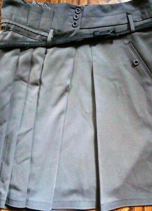 Оригинальная юбка-трапеция