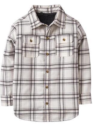Рубашка ветровка на шерпе для мальчика 12-14 лет crazy8