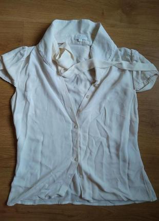 Шелковая блуза escada в винтажном стиле