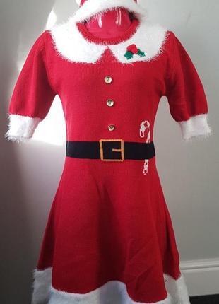 Прикольное новогоднее платье  primark, размер xs