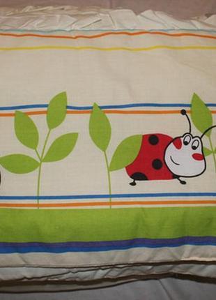 Постельное белье в кроватку божьи коровки, 10 эл.