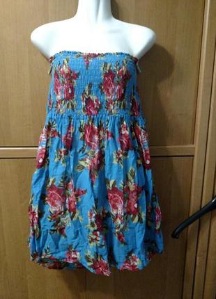 Платье тоненький котон