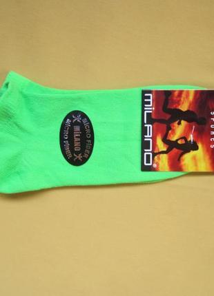 Ароматизированные пахнущие яркие спортивные носки,р.35-39,турция