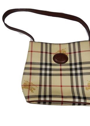 Женская сумка burberry на короткой ручке1 фото