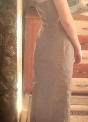 Красивое длинное платье h&m в подарок