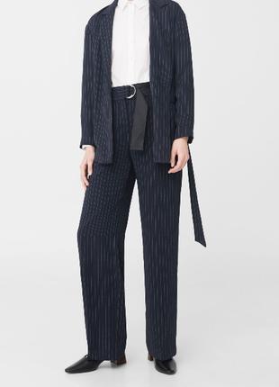 Классические брюки mango suit текущая коллекция2 фото