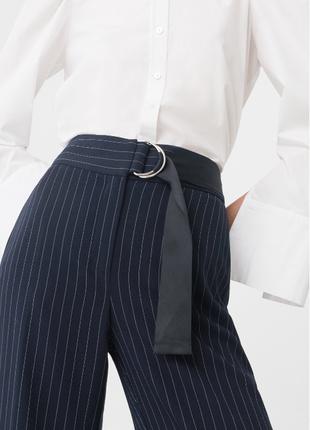 Классические брюки mango suit текущая коллекция