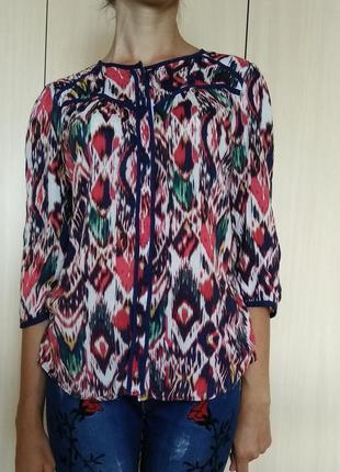 Яркая блуза m&s