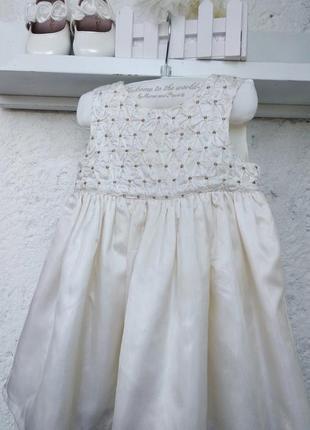 Платье нарядное mothercare 3-6 месяцев