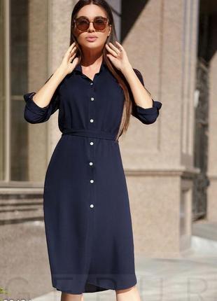 Платье рубашка хлопок 100%