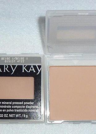 Компактна мінеральна пудра mary kay мери кей mary kay