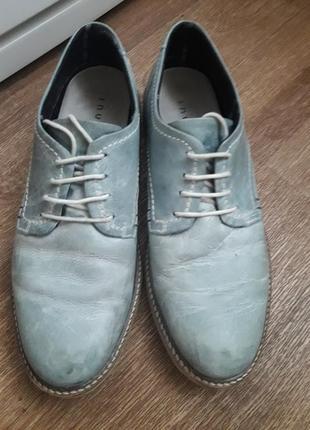 Фирменные кожаные туфли 40 размер