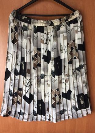 Распродажа шифоновая юбка плисе большой размер 18 смотрите замеры