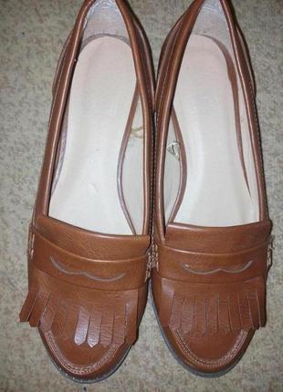 Туфли-лоферы фирмы f&f
