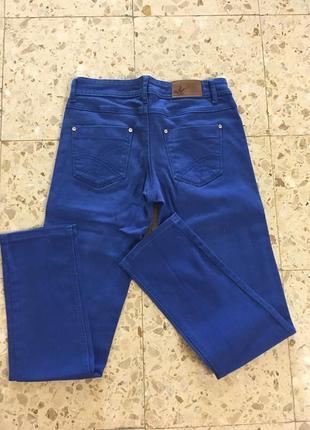 Брюки синие/штаны/джинсы