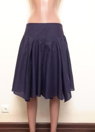 Многослойная натуральная юбка dorothy perkins