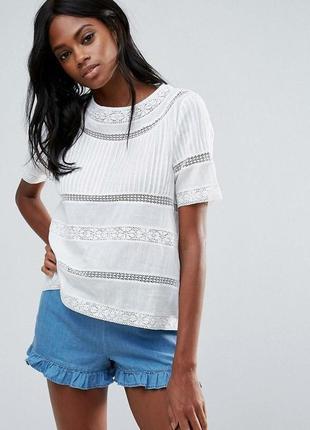 Натуральная блуза zara размер s