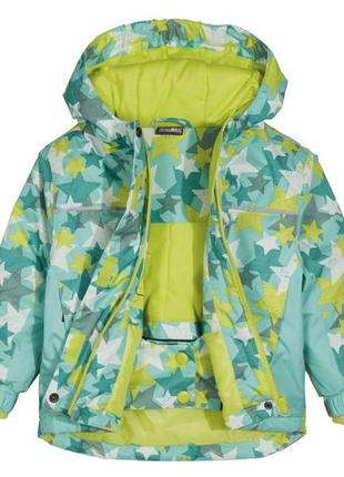 Лыжная термо-куртка, курточка на девочку lupilu, германия, р.110-116
