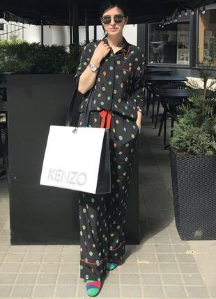 Большая сумка шоппер kenzo x h&m