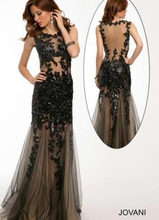 Вечернее платье от американского бренда jovani