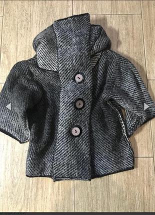 Укорочённое пальто,кардиган,кофта теплая