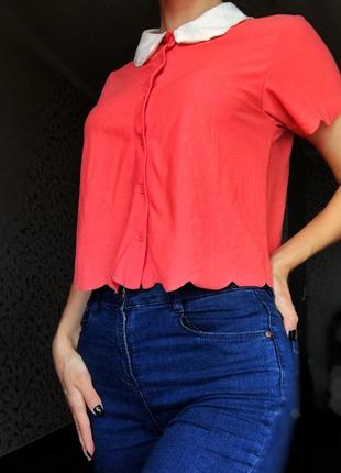 Малиновая блуза/блузка